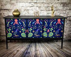 Upcycled Sideboard, Retro Sideboard , Vintage Sideboard, Painted Sideboard, Mid Century Sideboard, TV unit, Teak sideboard, Upcycled Cabinet
