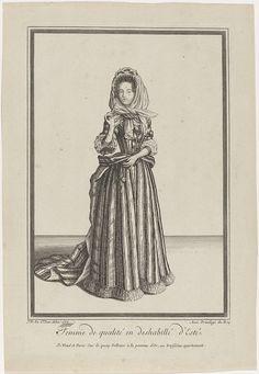 Femme de qualité en deshabillé d'Esté, mentioned on object Dieu de Saint Jean, 1684