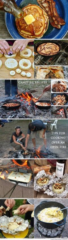 Ooooooh these look good! EASY Camping Recipes