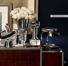 Ralph Lauren Home #Modern_Chairman Collection 8 - Sideboard chrome objects