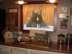 PRIMITIVE COUNTRY DINING ROOM