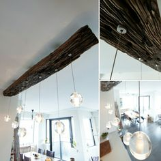 It all started with a railway sleeper. Paired with #Bocci Collection 14 pendants. End result, a stunning chandelier. Made to order.  www.zenporium.com #design #rustic #chandelier #homedecor #lighting #customdesign #railwaysleeper #rusticmodern #custommade #Toronto #bespoke #shabbychic #InteriorDesign #oneofakind #Zenporium Railway Sleepers, Rustic Chandelier, Modern Rustic, Bespoke, Toronto, Custom Design, Shabby Chic, Pendants, Interiors