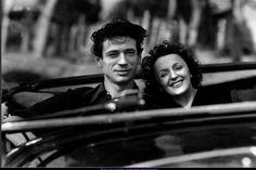 """Edith Piaf et Yves Montand dans """" Etoile sans lumière """""""