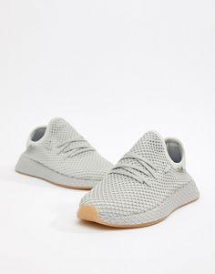 new style b0609 4994c adidas Originals  adidas Originals Deerupt Runner Sneakers In Gray CQ2628