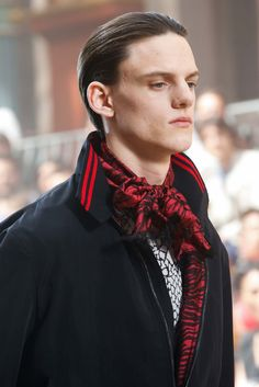 See detail photos for Lanvin Spring 2016 Menswear collection.