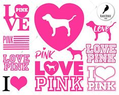 images of victoria secret dog logo Victoria Secret Wallpaper, Victoria Secret Pink, Vinyl Crafts, Vinyl Projects, Marca Pink, Cricut Craft Room, Dog Logo, Pink Wallpaper Iphone, Silhouette Cameo Projects