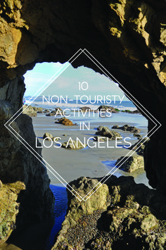 10 Non-Touristy Activities In Los Angeles // To note: free gallery openings second Tuesdays of every month in DTLA