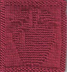 Crédito:  Knitting Knonsense  Crédito da Tradução:  Blog By Day   Agulha compatível com a lã  Coloque 37 pontos  1-4:  toda meia  5:  3m,...
