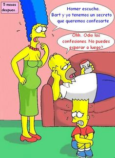 Bart Simpson und Edna Krablapple Porno