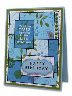 Inspiration Mosaic by Vera - Cards and Paper Crafts at Splitcoaststampers (Feb'16)