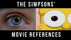 The Simpsons movie references - some of the movie references in one supercut #simpsons #movie #film #supercut