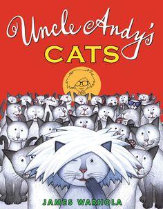 Uncel Andy's Cats  Kid's art book
