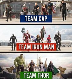 Team Thor the strongest