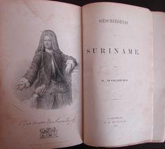 Julien Wolbers schrijver van standaardwerk Geschiedenis van Suriname 1861. Dubbelklik voor meer info.
