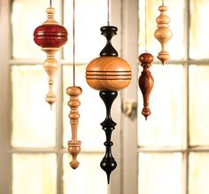 Wood lathe ornaments