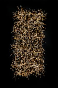 Works in Kibiso — Kiyomi Iwata Fibre And Fabric, Textiles, Leaf Art, Installation Art, Textile Art, Embroidery Stitches, Fiber Art, It Works, Sculptures