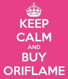 Keep calm and buy Oriflame #pink