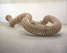 """artruby:  """" Richard Deacon, currently at Tate Modern through April 19.  """""""