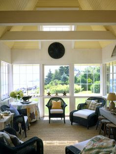 Letting the Outdoors In - MyHomeIdeas.com
