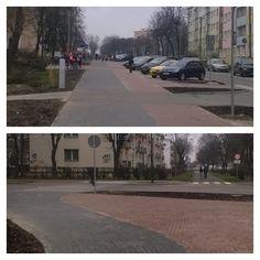 """""""Nowa #DDR w #Świdnik.u na ul. #Kopernika Ma kilka dobrych rozwiązań, jak i kilka złych. :/ #rower"""""""