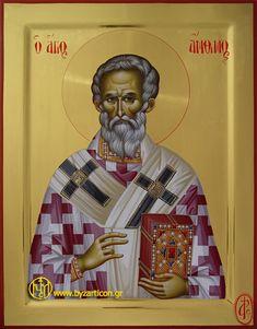 Portable Icons - Saints Byzantine Icons, Byzantine Art, Orthodox Christianity, Religious Icons, Orthodox Icons, Saints, Religion, Gallery, Fictional Characters