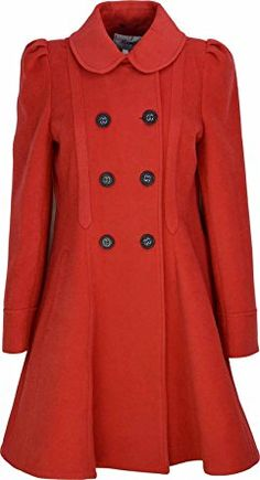 6cbb2d0a46983 Kentex Online Women s Double Breasted Long Fit   Flare Winter Coat With  Lining Review