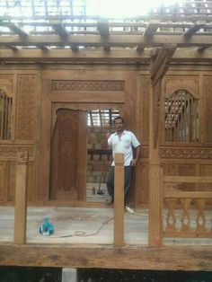 House In The Woods, Teak Wood, Gazebo, Architecture, Interior, Modern, Furniture, Home Decor, Arquitetura