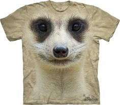 Who is ready to wear big face animal t-shirts  this summer? I am!