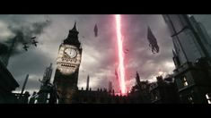 See the epic CG launch trailer for Mass Effect 3 -- starring FemShep! Mass Effect 3 is now available for Xbox Playstation and PC. Mass Effect Tattoo, Mass Effect 2, Big Ben Clock, Cinematic Trailer, New Video Games, In And Out Movie, Making A Movie, Gothic Architecture, Sci Fi Art