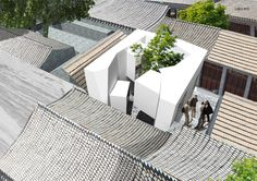 micro hutong by standardarchitecture at beijing design week