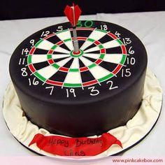 Image result for dart board cake