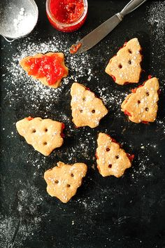 studio kitchen | Shortbread cookies with filling 'Campari orange'