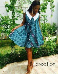 DKK Latest African fashion Ankara kitenge African women dresses African p African Inspired Fashion, African Dresses For Women, African Print Dresses, African Print Fashion, Africa Fashion, African Attire, African Wear, African Fashion Dresses, African Women