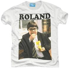 Roland Browning from Grange Hill Cricket Equipment, Retro Vintage, Vintage Fashion, Browning, 1990s, Mens Tops, T Shirt, Supreme T Shirt, Tee Shirt
