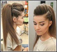 Pin by Alyshia Brunner on Hair,Skin&Nails   Pinterest   Hair style ...   Einfache Frisuren