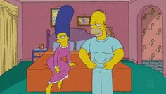 22 Times Homer And Marge Simpson Gave Us Relationship Goals Homer And Marge, The Simpsons, Lisa Simpson, Relationship Goals, Family Guy, Fictional Characters, Funny Stuff, Eat, Times