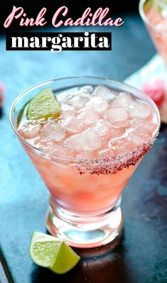 Step up your margarita game with this Pink Cadillac Margarita with a Hibiscus Salt Rim. Let's break down this Pink Cadillac Margarita recipe from top to bottom! First: Glassware After a couple of these cocktails, Tequila Drinks, Pink Drinks, Cocktail Drinks, Pink Alcoholic Drinks, Vodka Sangria, Martinis, Summer Cocktails, Pink Cadillac Margarita Recipe, Margarita Recipes