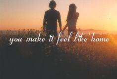 You make it feel like home <3 #Nervo #Music