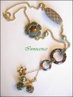Necklaces rocailles/Seed Beads - Taj Pendant de… - 1er bijou de… - Jewel de Sabine… - Boule Ayshe de… - Ayshe et Egyptian… - Des Cabochons.... - Fleur… - Le printemps… - Une Sharon de… - Une Passion Flower… - Un petit sautoir de… - Ah ce bleu,j'en… - On continue avec… - Un sautoir LV en… - Des Sautoirs.... - Et un petit swap un! - Parure Folklo et… - Swap de l'été… - Deux sautoirs - Concours collier… - Beads and Bijoux