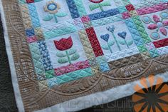 Piece N Quilt: Custom Machine Quilting - 2 Applique Quilts - By Natalia Bonner of Piece N Quilt