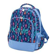 Laney Leopard Backpack