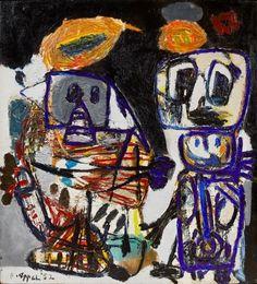 Karel Christiaan Appel - Artist Art for Sale - Karel Christiaan Appel Art Cobra, Contemporary Artists, Modern Art, Art Informel, Dutch Painters, Art Database, Dutch Artists, Art Moderne, Outsider Art