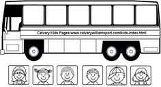 For math number worksheet? Sticking children on the bus School Week, Pre School, Computer Lab Lessons, Kindergarten Math Worksheets, Wheels On The Bus, School Themes, Bible Crafts, Student Teaching, Kids Songs