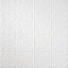 TinCraft Circles HomeStyle Ceilings Tin/Metal Paintable 2' x 2' Panel 8008 by Armstrong