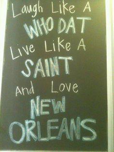 Louisiana Pride- Saints Football