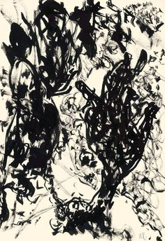 Der Maler Max Weiler 1910-2001 | Kunst - Zeichnungen und Arbeiten auf Papier - Autonomie der Mittel, 1960-1968 Abstract Drawings, Abstract Art, Austria, Sketches, Paintings, Inspiration, Drawings, Paper, Painting Abstract
