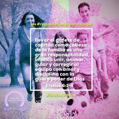 #ElMejorEquipo siempre es una #Familia unida. Las #ReglasDelJuego para #Papa #DiaDelPadre #IcaRiosXela