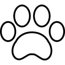 Картинки по запросу рисунок собачья лапа