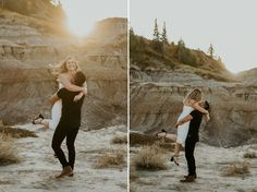 Drumheller Badlands in Alberta is one of my favourite locations for, engagement photos, badlands elopements or sunset wedding photos! I met Tatum & Jed at this beautiful location for their sunset engagement photos in the badlands of Alberta! Browse the blog to see this full day! Havilah Heger Photography Engagement Session, Engagement Photos, Drumheller Alberta, Sunset Wedding, Elopements, Wedding Photos, Couple Photos, Blog, Photography