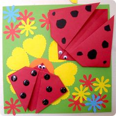 Origami crafts with kids